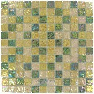 """Elida Ceramica 12""""x12"""" Glass Mosaic in Natural Oil"""