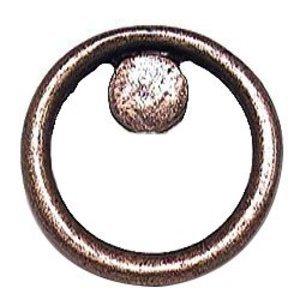 Emenee Circle Knob in Antique Matte Brass