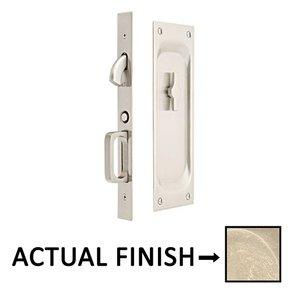 Ordinaire Emtek Hardware   Privacy Pocket Door Mortise Lock In Tumbled White Bronze