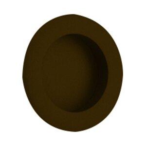 """Emtek Hardware 2 1/2"""" Diameter Round Recessed Pull in Medium Bronze"""