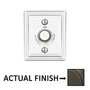 Emtek Hardware American Classic Wilshire Door Bell in Oil Rubbed Bronze