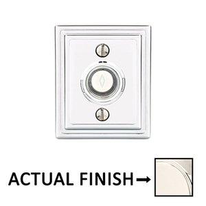 Emtek Hardware American Classic Wilshire Door Bell in Lifetime Polished Nickel