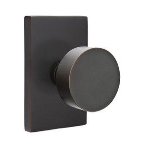 Brass Modern Hardware - Passage Round Door Knob With Modern ...