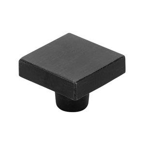 "Emtek Hardware 1 5/8"" Long Knob in Flat Black Bronze"