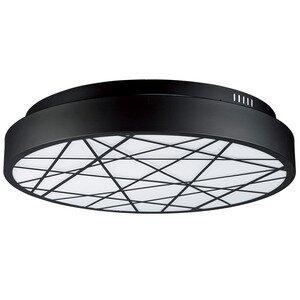 ET2 Lighting LED Flush Mount in Black