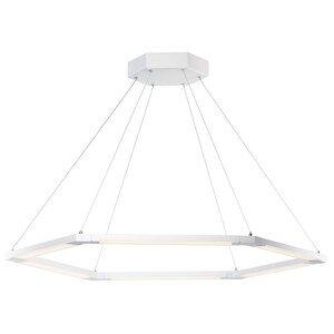 ET2 Lighting 6-Light LED Pendant in Matte White