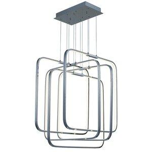 ET2 Lighting 5-Light LED Pendant in Polished Chrome