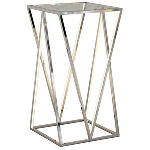 ET2 Lighting LED Accent Table in Polished Chrome