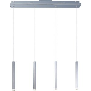 ET2 Lighting Picolo 4-Light LED Linear Pendant in Polished Chrome