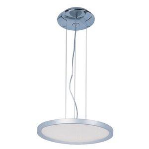 ET2 Lighting Moonbeam LED Pendant in Metallic Silver