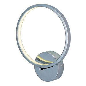 ET2 Lighting Hoops LED Wall Sconce in Polished Chrome