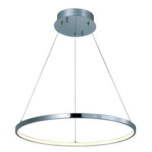ET2 Lighting Hoops LED Pendant in Polished Chrome