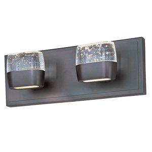 ET2 Lighting Volt 2-Light LED Vanity in Bronze