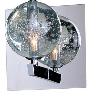 ET2 Lighting Orb 1-Light Wall Sconce in Polished Chrome