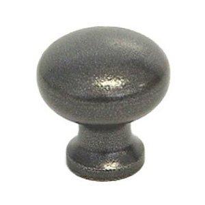 """LB Brass Cabinet Knob ( 1"""" ) in Satin Black"""