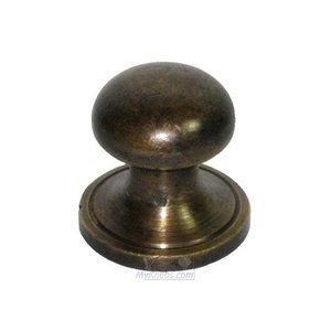 """Gado Gado 7/8"""" Half Sphere Knob w/ Small Base"""