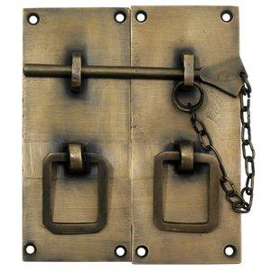 """Gado Gado 3 1/2"""" x 4 1/2"""" Two Piece Lock w/ Handle"""