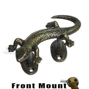 "Gado Gado 2"" Centers 4 3/4"" Overall Small Gecko Pull, Right Curving"
