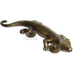 "Gado Gado 4 1/2"" Centers  11 1/2"" Overall Large Gecko Pull, Left Curving"