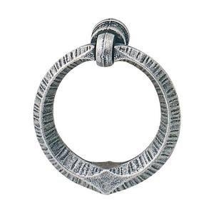 Hafele Hardware Ring Pull in Antique Pewter