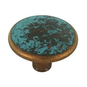 """Hafele Hardware 1 1/2"""" Diameter Knob in Rustic Copper"""