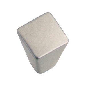 Hafele Hardware Knob in Nickel Matte