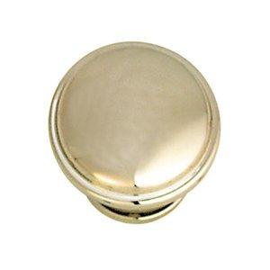 "Hafele Hardware 1 3/8"" Diameter Knob in Polished Nickel"