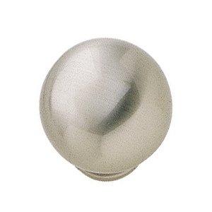 """Hafele Hardware 1 1/4"""" Diameter Knob in Brushed Nickel"""