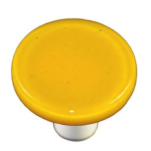 "Hot Knobs - Solids Collection - 1 1/2"" Diameter Knob in Sunflower Yellow"