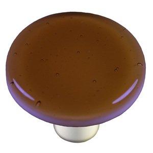 "Hot Knobs 1 1/2"" Diameter Knob in Light Bronze with Aluminum base"