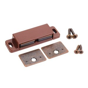 Hardware Resources 15lb Double Magnetic Catch Retail Pack. in Brown