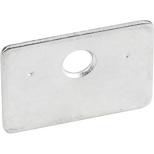 Hardware Resources Strike Plate in Zinc