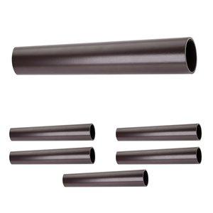 "Hardware Resources (6 PACK) 1-5/16"" Diameter x 8' Round Aluminum Closet Rod in Dark Bronze"