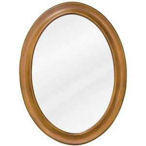 "Elements Hardware 23 3/4"" x 31 1/2"" Mirror in Warm Carmel with Beveled Glass"