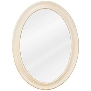 "Elements Hardware 23 3/4"" x 31 1/2"" Mirror in Buttercream with Beveled Glass"