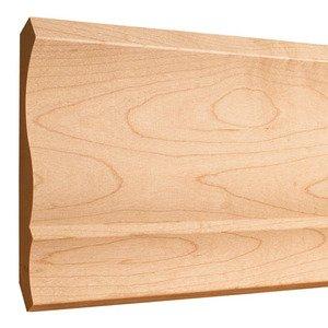 """Hardware Resources 5-1/2"""" x 11/16"""" Standard Crown Moulding in Oak Wood (8 Linear Feet)"""