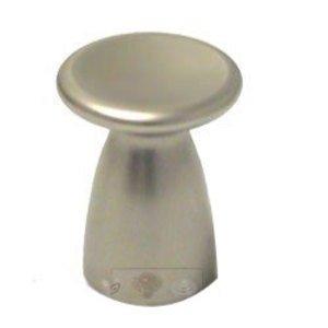 Italbrass Nickel Matte Indent Knob in Nickel Matte