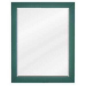 """Jeffrey Alexander 22"""" W x 1"""" D x 28"""" H Forest Green Cade Mirror"""