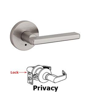 Kwikset Door Hardware Halifax Privacy Door Lever in Satin Nickel