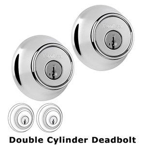 Kwikset Door Hardware Double Cylinder Deadbolt in Bright Chrome