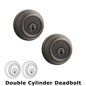 Kwikset Door Hardware UL Deadbolt Double Cylinder Deadbolt in Venetian Bronze