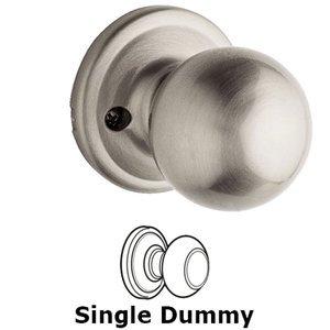 Kwikset Door Hardware Circa Single Dummy Door Knob in Satin Nickel