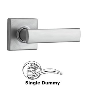 Kwikset Door Hardware Vedani Single Dummy Door Lever in Satin Chrome