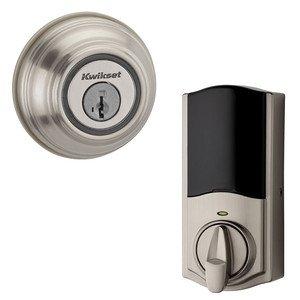 Kwikset Door Hardware Kevo Second Generation Electronic Deadbolt in Satin Nickel