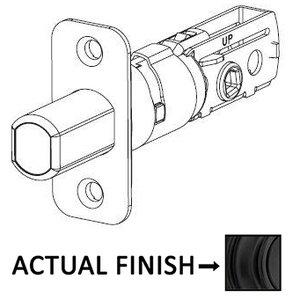 Kwikset Door Hardware Adjustable Radius Deadbolt Latch for 780 and 980 Series in Iron Black