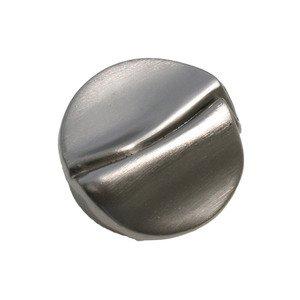 "Laurey Hardware 1 3/8"" Knob in Satin Nickel"