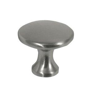 "Laurey Hardware 1 3/8"" Knob in Brushed Satin Nickel"