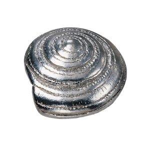 Laurey Hardware Swirl Knob in Silverado
