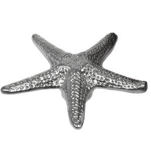 Laurey Hardware Starfish Knob in Polished Chrome