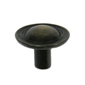 """Laurey Hardware 1"""" Ambassador Knob in Antique Brass"""